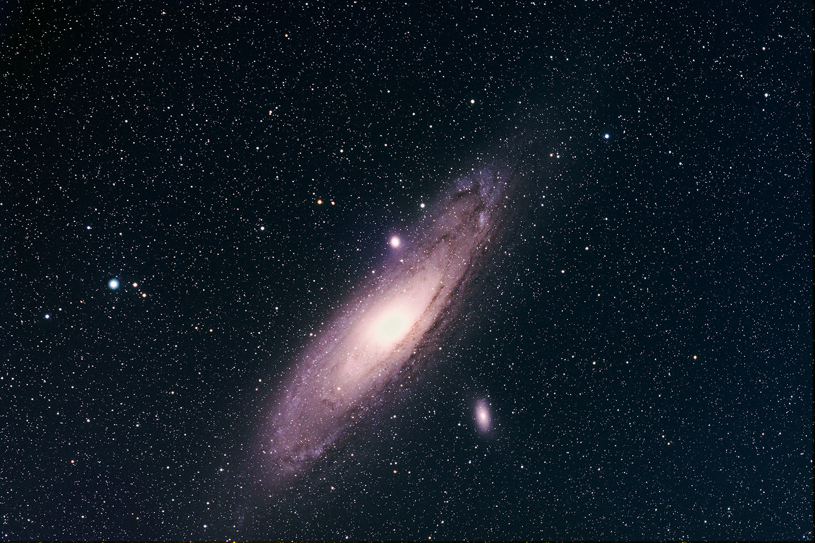 the andromeda galaxy in the winter - photo #17